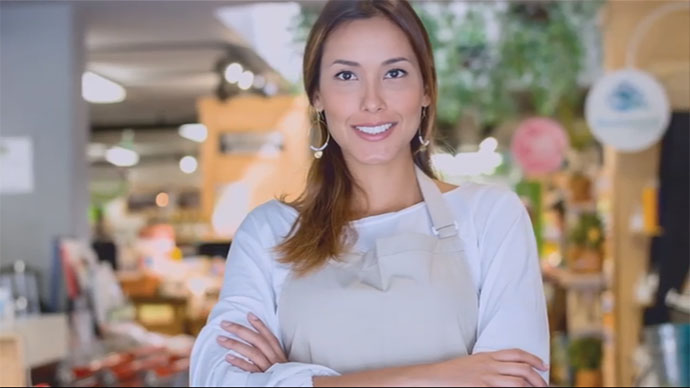 Retail mechandising video